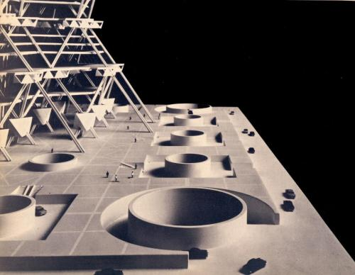 archimodels:  © louis kahn + anne tyng - city tower
