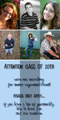 CLASS OF 2013!!!We're looking for senior reps.Apply here. :-)