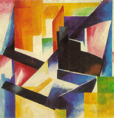 Aleksandra Ekster- Color Construction (1912)