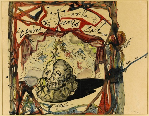 artlog:  Salvador Dali, Cartel des Don Juan Tenorio, 1949. Courtesy of Venus over Manhattan.