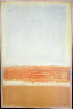 taf-art:  Untitled (1954). Mark Rothko.  Looking at a Rothko painting makes me feel like Sal looking at Kenny Cosgrove looking at a Rothko painting. Inarticulate feelings of hopeless longing.