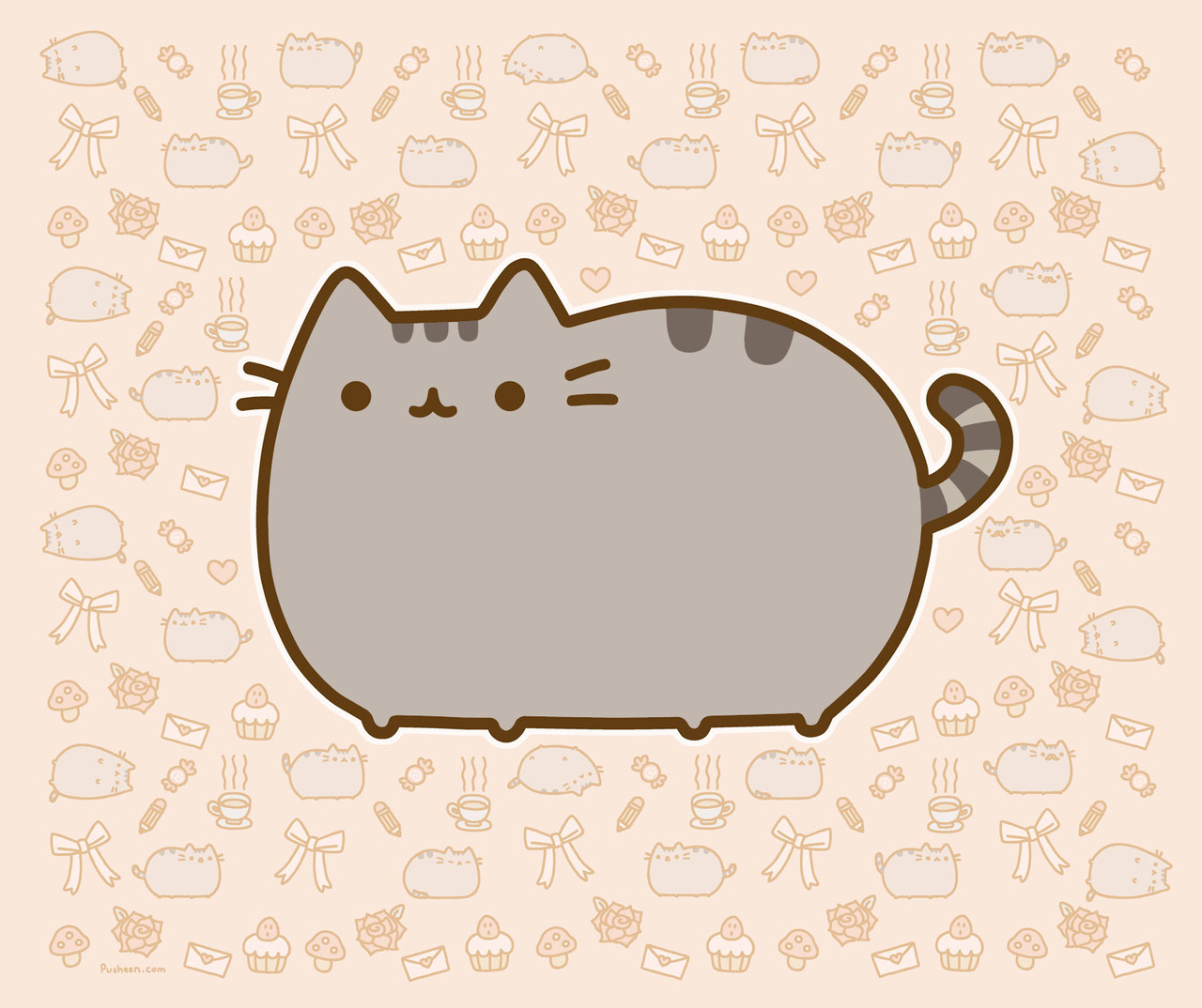 storyboard:  Pusheen the Cat Tells All Like most members of the feline family, Pusheen the Cat enjoys sitting on warm computers, long petting sessions, and many other quintessential feline activities. But she's not your typical tabby. Adopted from a shelter in her youth (hence the name, based upon the Irish word for kitten, puisín), Pusheen has since grown into one of Tumblr's furry sensations.  Her human-like snacking abilities, love of dress-up, and abnormally adorable on-screen bop have garnered hundreds of thousands of fans. She already has a line of merchandiseand just signed a book deal. And yet, despite all this fame, Pusheen remains her modest, friendly, yarn-loving self. How does she stay so grounded, amidst all the adulation? Pusheen answers, in typical fashion. Read More