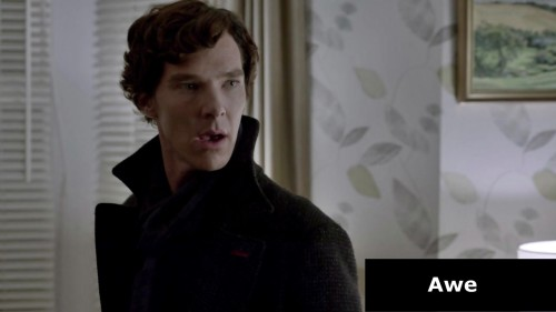 Analysing Benedict in over 200 pics -> The chemistry of feelings  Sherlock -The Reichenbach Fall. I see.