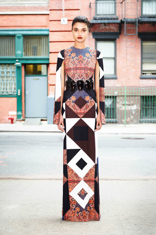 Givenchy by Riccardo Tisci - Resort '13. His prints are on another level.