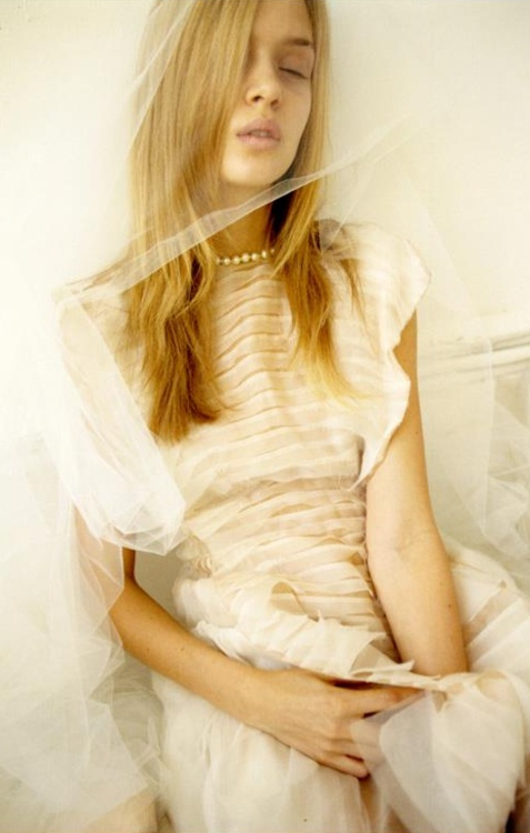"Josephine Skriver  ""That Was My Veil""  Lula #14  Spring/Summer 2012"