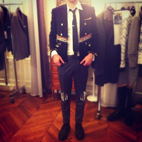 bostonroll:  Thom Browne fall 2012