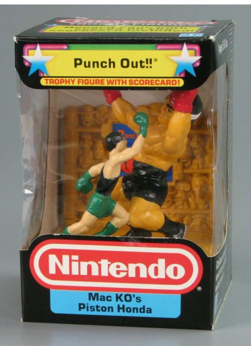 Punch-Out!! figurine.