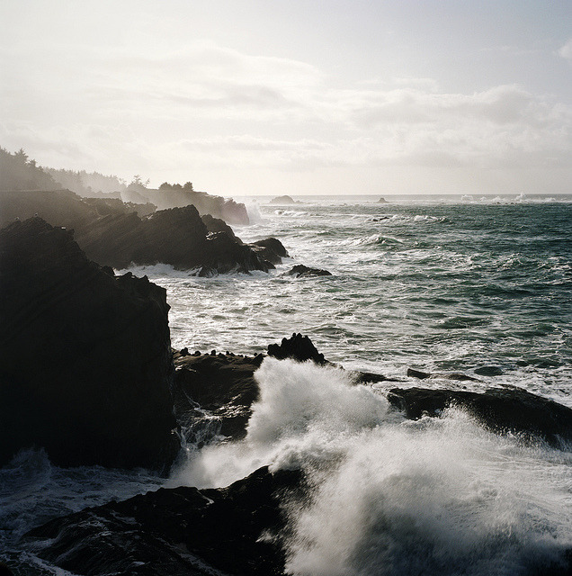 raoulpop:  the thundering voice of the sea by manyfires on Flickr.