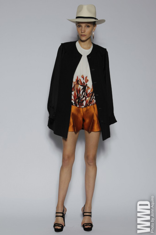 "Maiyet Resort 2013 ""The girl from Ipanema heads to Argentina's Pampas,"" says cofounder Kristy Caylor of the latest resort collection."