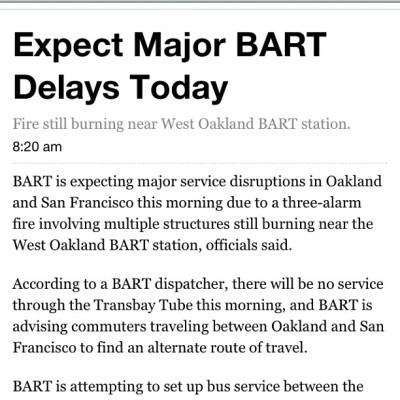 Heads up for all #bayarea #oakland #sanfrancisco #sanjose (Taken with Instagram at Foodoofus Lab)