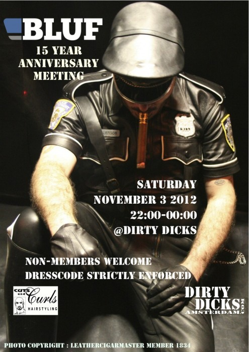 BLUF Amsterdam / 15th birthday, Amsterdam, Sat 3 Nov 12