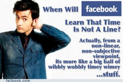 Dr. who/FB clueless!?!?!?!