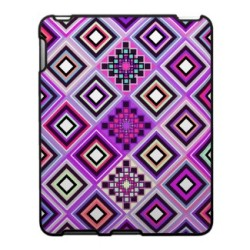 Purple Navajo Inspired Ipad Cases by Organic Saturation