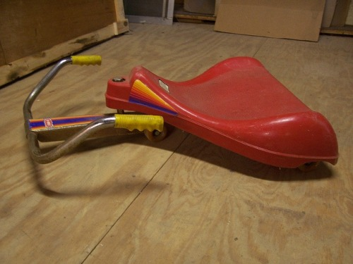 imremembering:  The Roller Racer [Imgur]  My friend had these and never wanted to play with them. WTF?