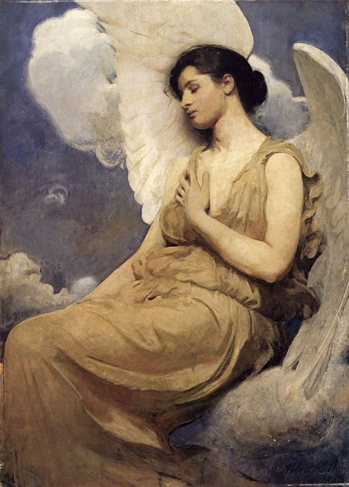 fleurdulys:  Winged Figure -Abbott Handerson Thayer