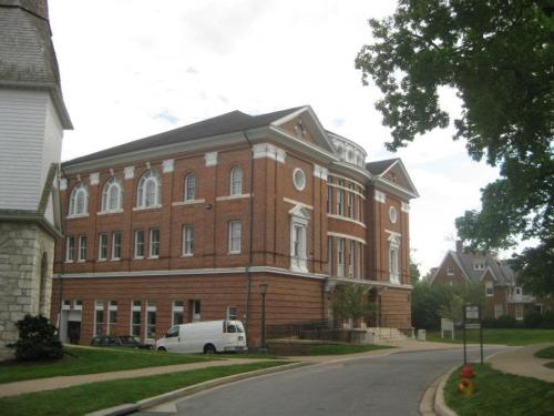 Alumni Hall. Theater Classes and faculty offices are here