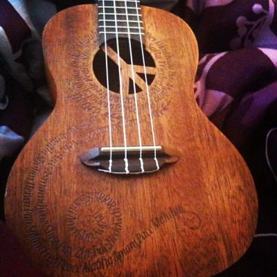 My beautiful brand new ukulele. :) (Taken with Instagram)
