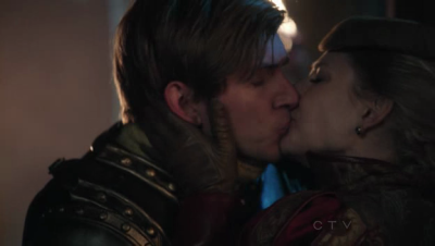 "amuseoffyre:  Once Upon a Time moments I love #5 - You were trapped, but now you're free Abigail and Frederick are easily my second-favourite pairing in the show. Not bad for a female character who initially showed up as a whiny spoiler Princess and a man who has had maybe four lines altogether. What I love about this pairing is that it's already there, defined, and has been for some time, and only because they have been torn apart by her father's curse, is she pushed into a union with James. Looking back at her first episodes, suddenly her ennuie and frustration with him apparent. He's not her Frederick. He'll never match her Frederick. ""He'll do"", because the one she really wants is trapped. I love that she's the first person to accept and acknowledge his love for Snow, and knows he will understand her enough to help her. I love it when James asks (as farm boys do) why she hasn't tried kissing and she has the single most beautiful response: ""I did, until my lips bled"". I love that even though she can't save him, the way she looks at the golden Frederick is still with complete love. This is a woman who has suffered for her true love, and when no one would help her, abducted her runaway fiance and with his help, got her true love back. I love that Abigail/Frederick are an example of how true love was there, then lost, then retrieved again. More than anything, I want to see Abigail and Frederick find one another again. Really, if I didn't ship Rumbelle so hard those two would have been my pairing of choice.  …damn, now I feel bad about hitting him with a car. I agree, though: Abigail/Kathryn is such a BAMF, and Frederick is everything she wants in the universe and I have all of these feelings for these two."