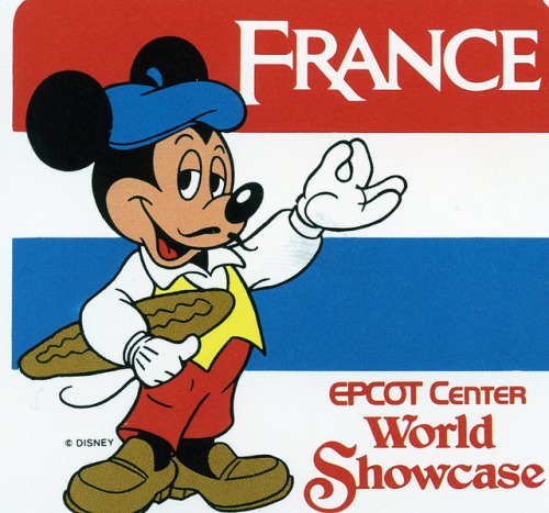 rememberingdisney:  France Sticker by angelagafford on Flickr.