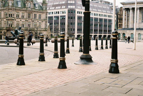 what a load of bollards | by © Bikeygeek2010 | via nudeblogger