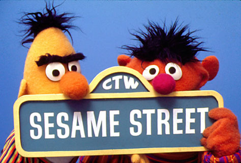 sesame street <3