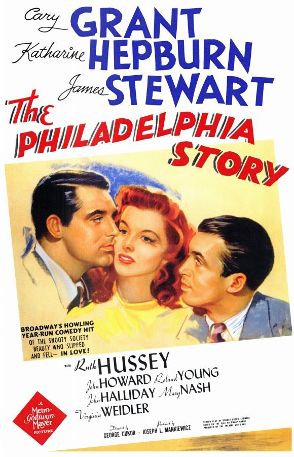Come see The Philadelphia Story this Saturday at noon at the National Archives! We're celebrating the 1940 Census by screening films from that year. Based on Philip Barry's hit Broadway comedy, The Philadelphia Story stars Cary Grant, Katharine Hepburn, and James Stewart in his Oscar®-winning performance. Directed by George Cukor. (112 minutes) It's free! Join us Saturday, June 16, at noon in the William G. McGowan Theater in the National Archives. (Poster image courtesy of MGM)