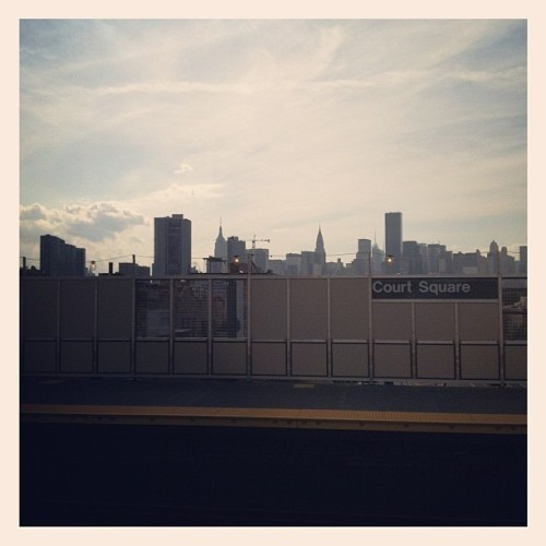 Long Island City welcomes you. (Taken with Instagram)