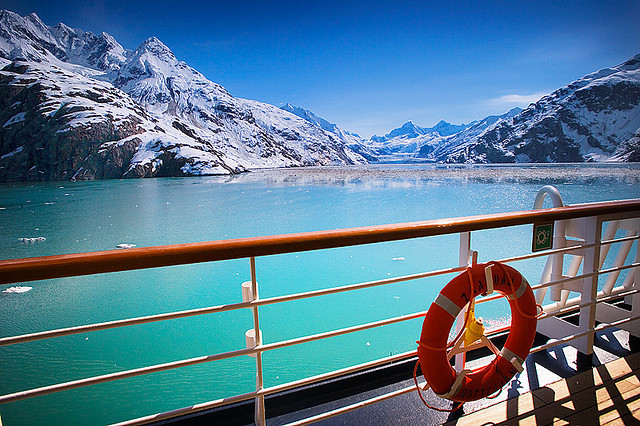 View from the Cruiseship - Glacier Bay by Clickr Bee on Flickr.