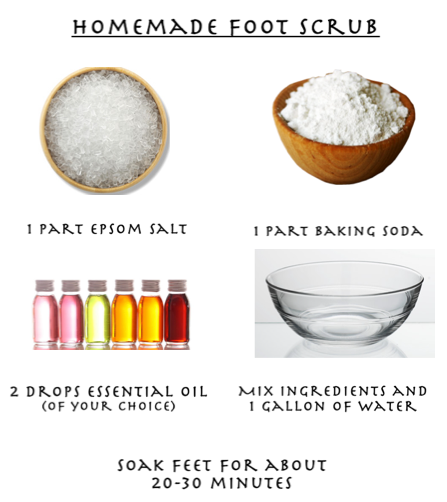 createthislookforless:  Homemade Foot Scrub