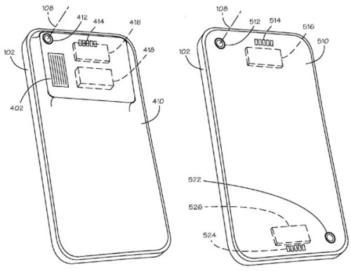 Apple filed a patent on interchangeable lenses on the iPhone. There's a chance they won't use it, but the idea's pretty interesting. It'd be a removable panel that lets you switch out which lens you want to use. Apple Files Patent on iPhone with Interchangeable Lenses via Engadget
