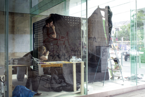 building / 2nd june 2012. karls kilian and urban textile vienna