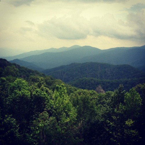 The Great Smoky Mountains, TN (Taken with Instagram)