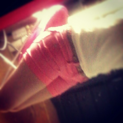 I guess these are the new style #pink #coral #shorts #girl #legs #white #shirt #me #room #myroom #chair #style #brown #leather #belt #apparrel #clothes #fashion #jeans #denim #pinkdenim #coraldenim #pretty #cute  (Taken with Instagram)