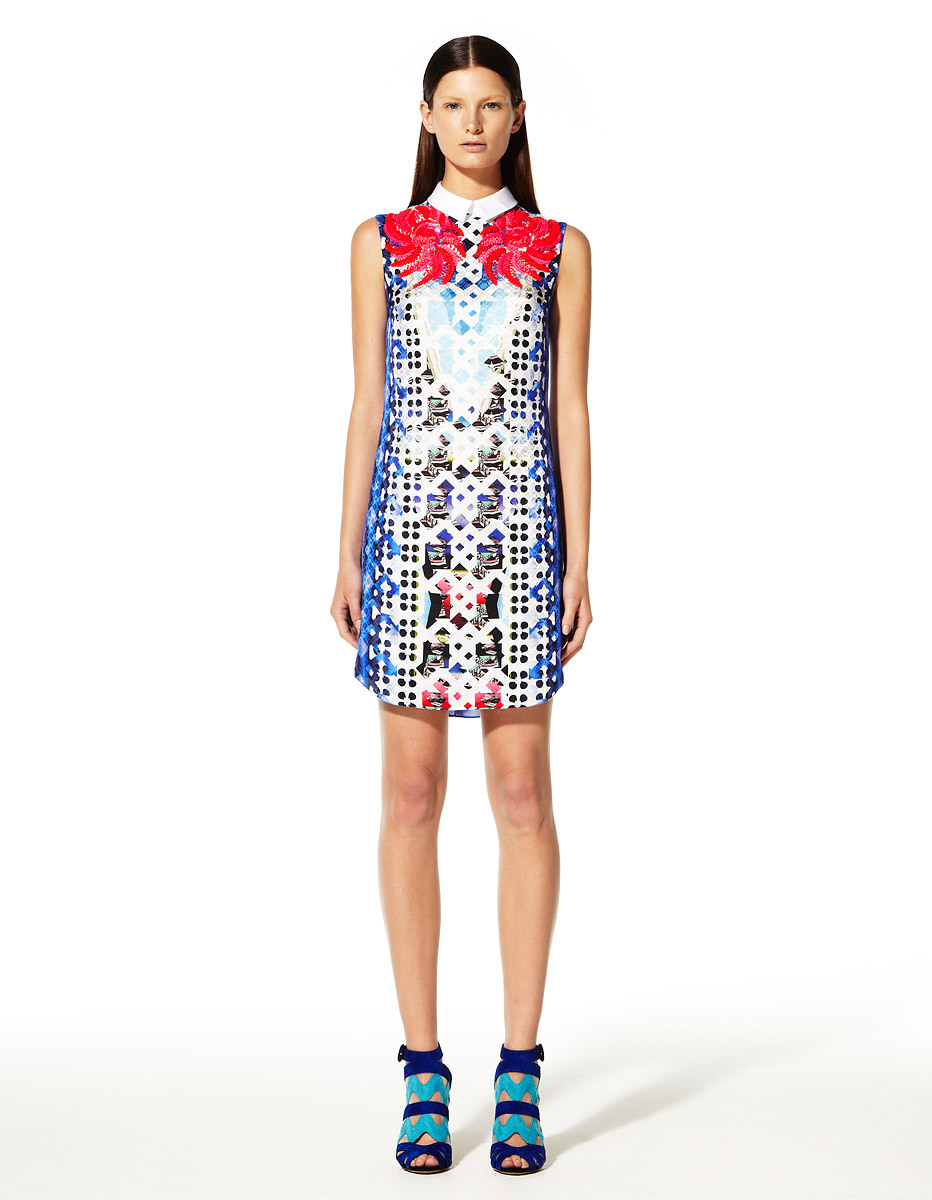yourmothershouldknow:  Peter Pilotto Resort 2013 Una palabra: ESTAMPADOS. ….. Peter Pilotto Resort 2013 One word: PATTERNS.