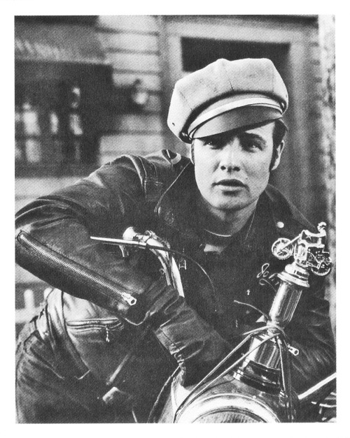 updownsmilefrown:  Marlon Brando in The Wild One, 1953