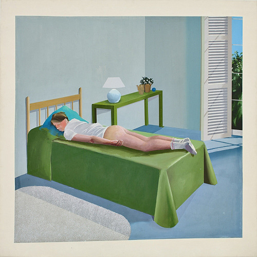 iheartmyart:  David Hockney, The Room Tarzana, 1967 (via homo-online: artqueer)  Somedays, I feel exactly like this