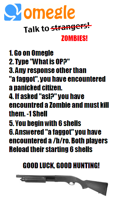 Great sport. My stats after 11 tries:-Tries: 11-Shells: 4-Citizens:9-Zombies: 2-/b/ro: 1