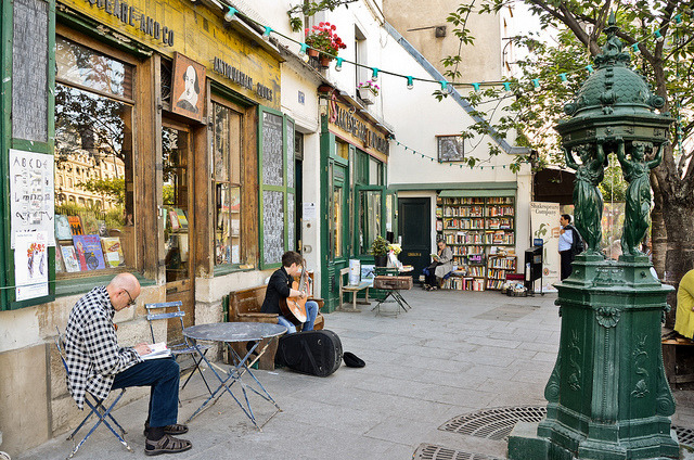 | ♕ |  Shakespeare & Company - Sorbonne  | by © Audrey | via ysvoice