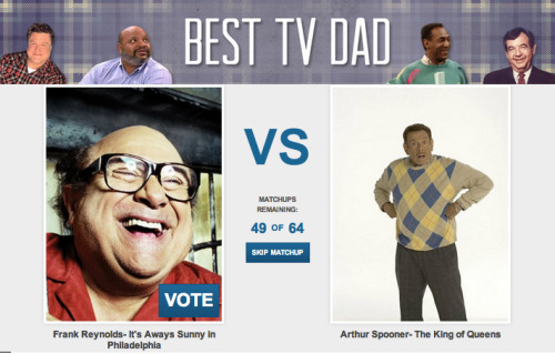 CollegeHumor Toplist: Best TV Dad We need your votes. You need our love. Let's do this! Vote now.