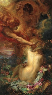 colourthysoul:  Henry John Stock - The Uplifting of Psyche