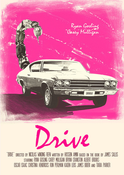 K, Watch Drive. It's on Netflix now.