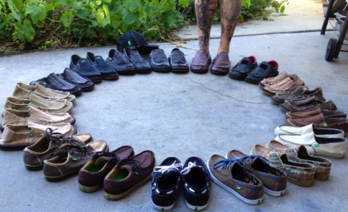 "sanukfootwear:  ""I call it my Sanuk circle of happiness.""- via Sanuk superfan Kodi C.  Gottaloveem"