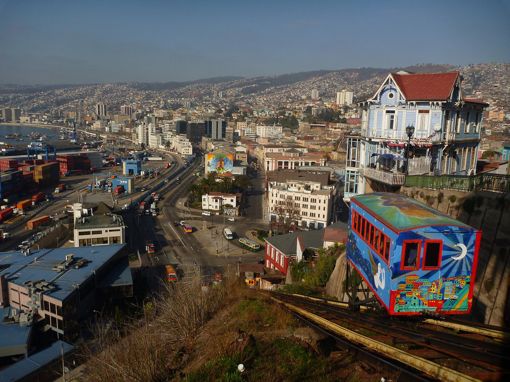 plane-ticket:  Valparaiso, Chile