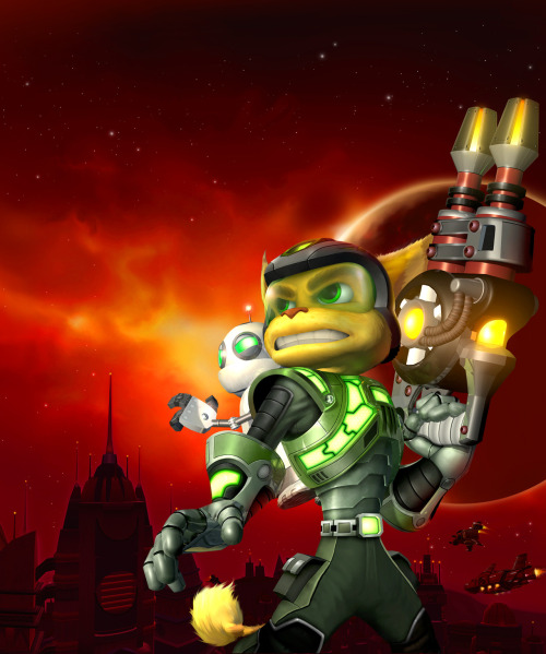 "gamefreaksnz:  ""Ratchet & Clank Collection"" gets new trailer  The Ratchet & Clank Trilogy will soon touch down on PlayStation 3, remastered in laser-sharp High Definition and stereoscopic 3D with full trophy support.   (via imgTumble)"