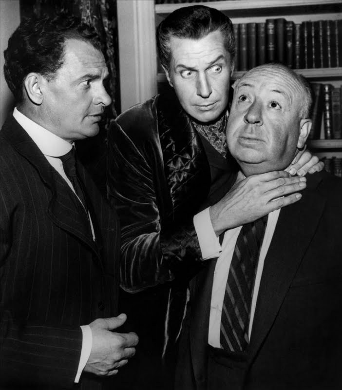Screen Legends - James Gregory, Vincent Price and Alfred Hitchcock