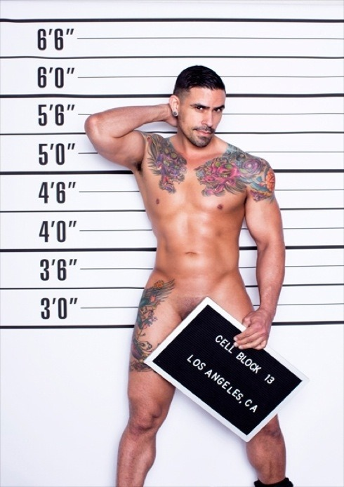 We can't get enough of these Cell Block 13 campaigns. First it was Jose, then bad boy Sam, and now there's double trouble with Shawn and Israel. Shot by Timoteo, the sexy bad boys show off their hot bods and the latest underwear from Cell Block 13. Click the link for more photos!