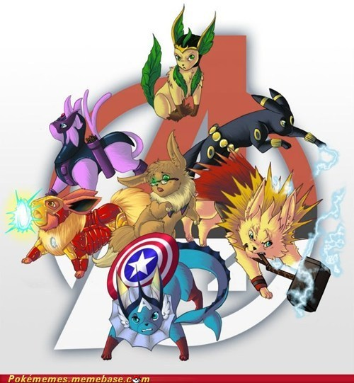 wordplayam:  Eevengers, I choose you!
