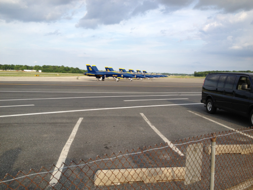 Blue Angels at my home base nbd
