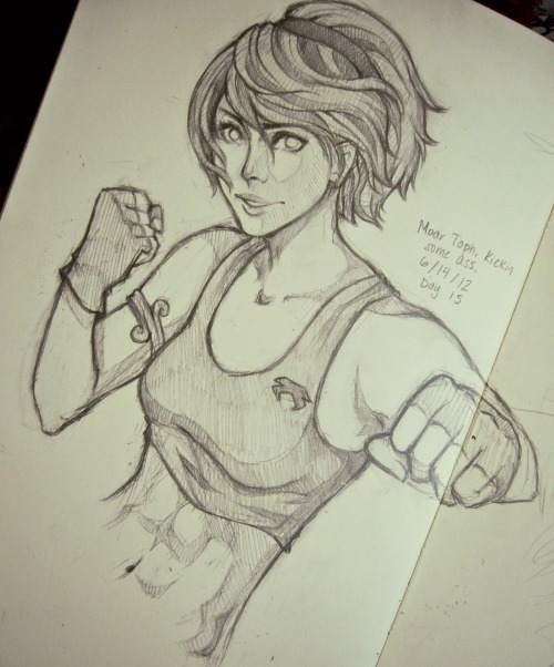 lexi-dee:  Older Toph kicking ass.