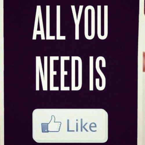 Like is all you need (Pris avec Instagram)